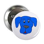 Puppy Dog Design (Dogs Blue) Button