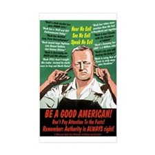 Be A Good American Decal