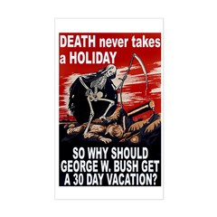 Death Takes A Holiday Decal