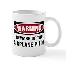 Warning Airplane Pilot Mug