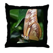 butterfly - puzzle Throw Pillow