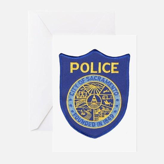 Sacramento Police Greeting Cards (Pk of 10)