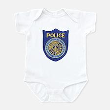 Sacramento Police Infant Bodysuit