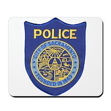 Sacramento Police Mousepad