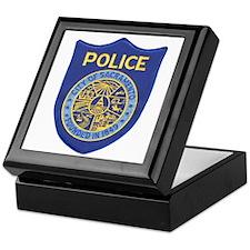 Sacramento Police Keepsake Box