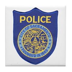 Sacramento Police Tile Coaster