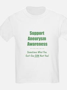 Support Aneurysm Awareness T-Shirt