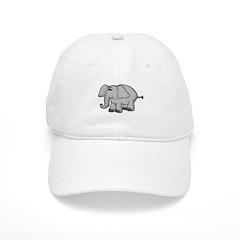 Elephant Animal Design Baseball Cap