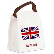 Royal Baby Celebration Canvas Lunch Bag