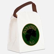 hooligans logo Canvas Lunch Bag
