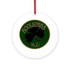 hooligans logo Round Ornament