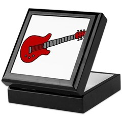 Guitar (Musical Instrument) D Keepsake Box