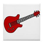 Guitar (Musical Instrument) D Tile Coaster