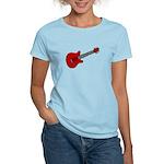 Guitar (Musical Instrument) D Women's Light T-Shir