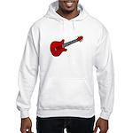 Guitar (Musical Instrument) D Hooded Sweatshirt