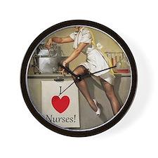 Nifty Nurse Wall Clock