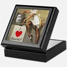 Nifty Nurse Keepsake Box