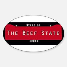 Texas Nickname #2 Decal
