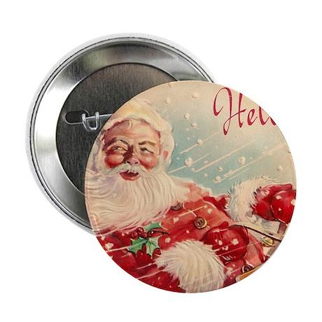 Vintage Santa Claus Christmas Hello 2.25