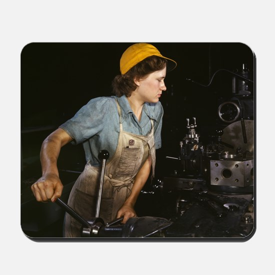 Real Life Rosie Mousepad