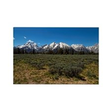 Grand Teton Scenic View Rectangle Magnet
