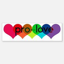Pro-LOVE Bumper Stickers