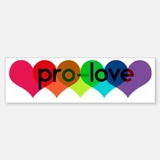 Pro-LOVE Car Car Sticker