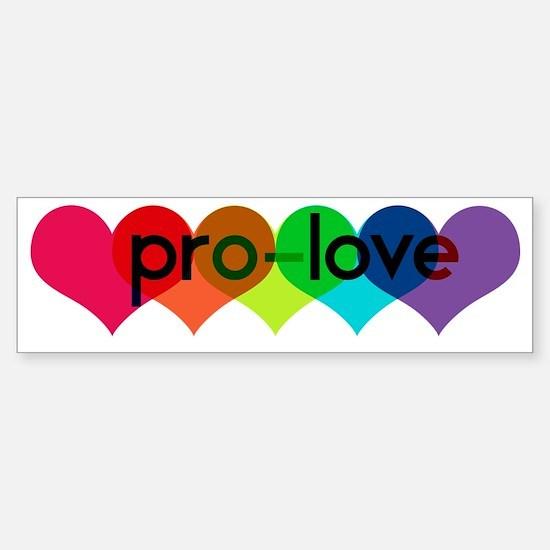 Pro-LOVE Sticker (Bumper)