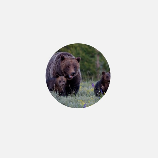 MAMMA GRIZZLY and CUBS Mini Button
