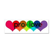 Pro-LOVE Car Magnet 10 x 3