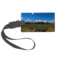 Grand Teton Scenic View Luggage Tag