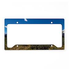 Grand Teton Scenic View License Plate Holder