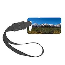 Grand Teton Scenic View Luggage Tag