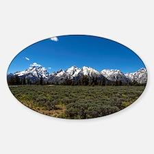 Grand Teton Scenic View Decal