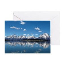 GRAND TETON - JACKSON LAKE Greeting Card