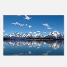 GRAND TETON - JACKSON LAK Postcards (Package of 8)