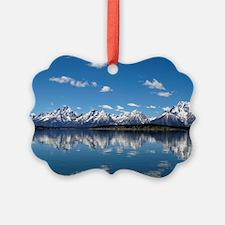 GRAND TETON - JACKSON LAKE Picture Ornament