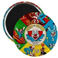 Vintage Toy Clown Cartoon Target Game Magnet