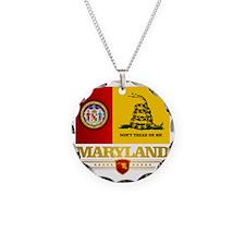 Maryland Gadsden Flag Necklace
