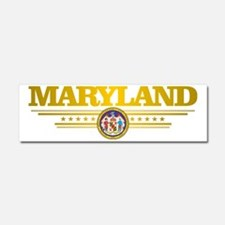 Maryland Car Magnet 10 x 3