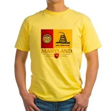 Maryland Gadsden Flag T