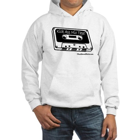 Kick ass mix tape Hooded Sweatshirt