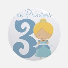 This Princess is Round Ornament