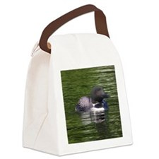 Lone Loon Canvas Lunch Bag