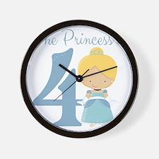 The Princess is 4 Wall Clock