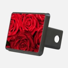 Red Roses Floral Hitch Cover