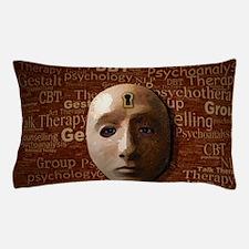 Psychology Mask Pillow Case