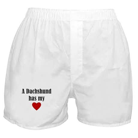 A Dachshund Has My Heart Boxer Shorts
