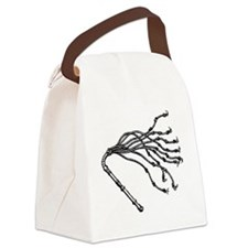 Cat O Nine Tails Canvas Lunch Bag