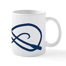 Blue Whip Crop Motif Mug